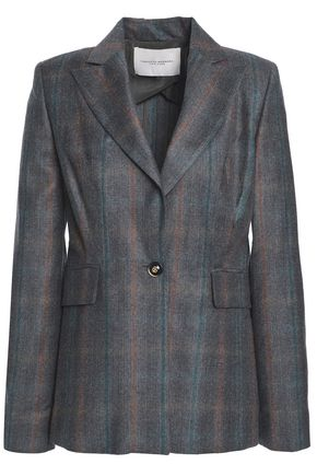 CAROLINA HERRERA Checked woven blazer