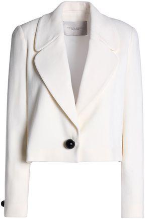 CAROLINA HERRERA Wool-crepe blazer