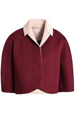 DELPOZO Two-tone neoprene jacket