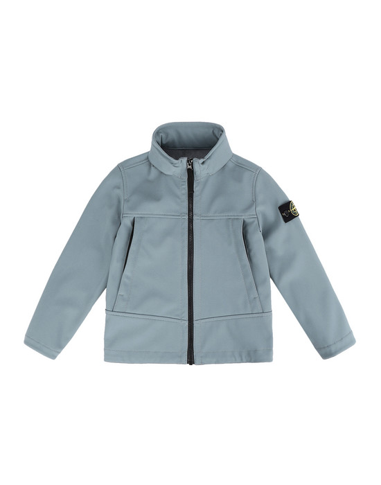 STONE ISLAND KIDS LIGHTWEIGHT JACKET Q0230 SOFT SHELL-R
