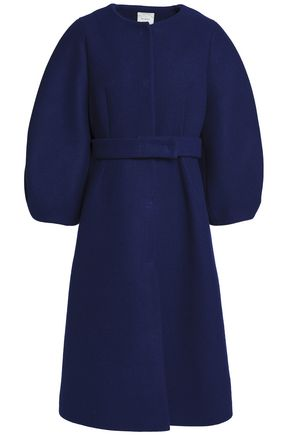 DELPOZO Wool-felt coat