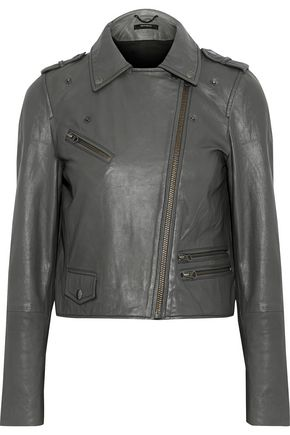 MUUBAA Columba leather biker jacket