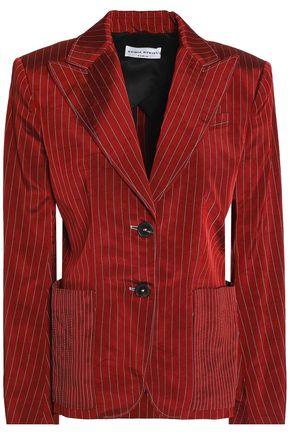 SONIA RYKIEL Pinstriped twill blazer
