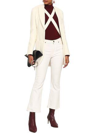 SONIA RYKIEL Cutout piqué blazer