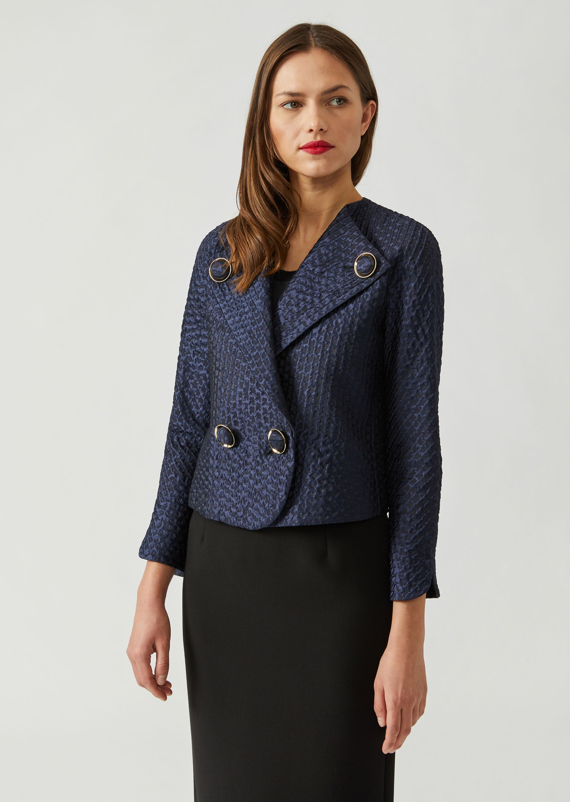 Casual Jackets - Item 41843744, Pattern from ARMANI.COM