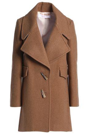SEE BY CHLOÉ Wool-blend felt coat