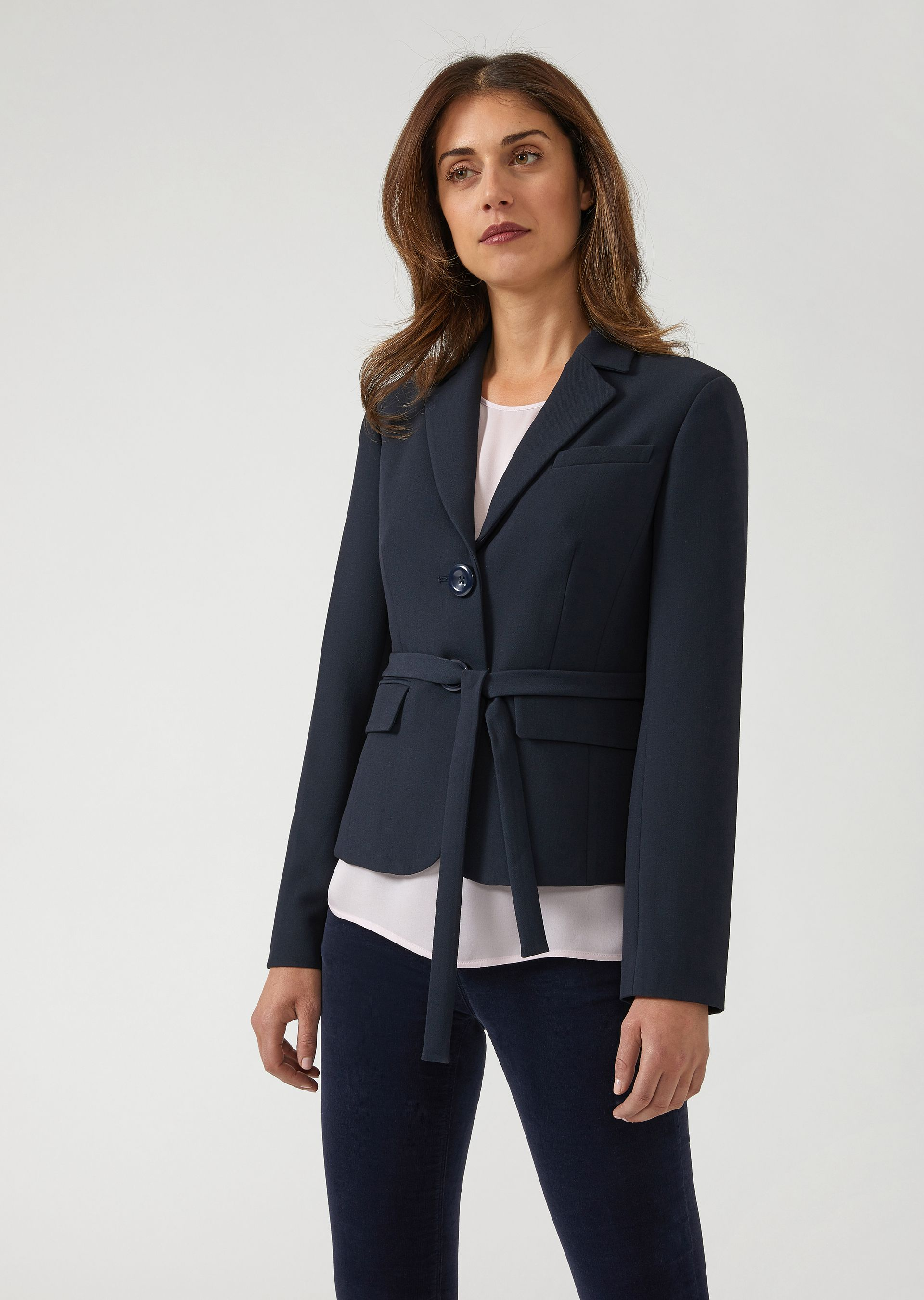 Casual Jackets - Item 41843753, Navy Blue from ARMANI.COM