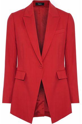 THEORY Etiennette B wool-blend blazer