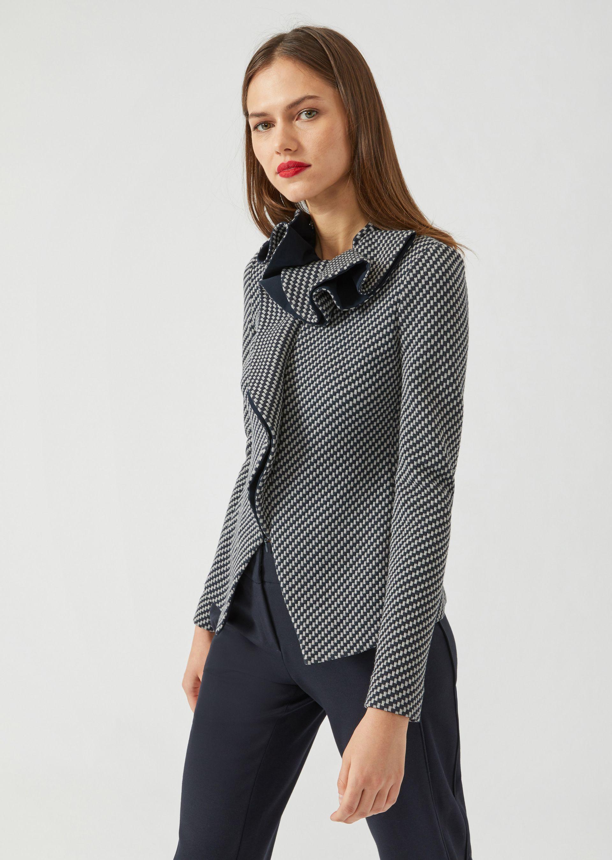 Casual Jackets - Item 41843776, Gray from ARMANI.COM