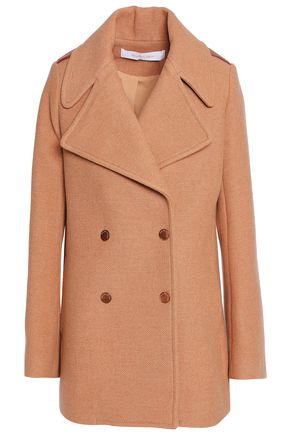SEE BY CHLOÉ Double-breasted wool-blend coat