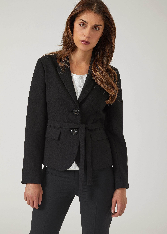 Casual Jackets - Item 41843820, Black from ARMANI.COM