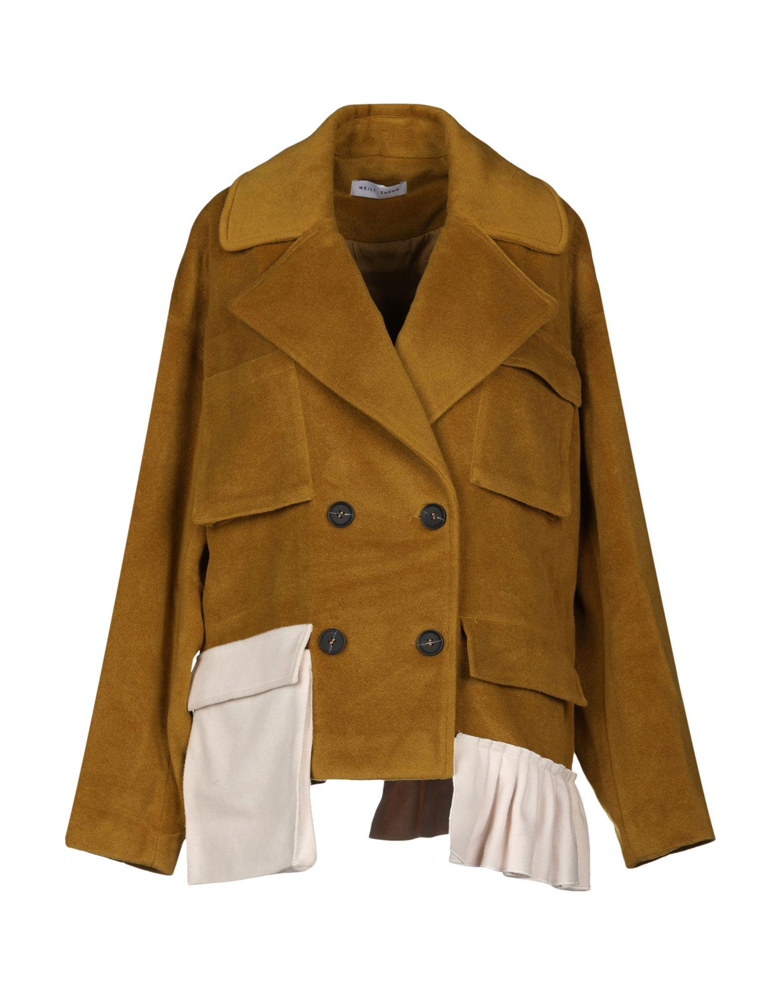 WEILI ZHENG Пальто пальто
