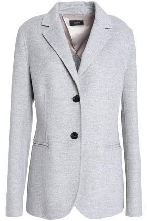 JOSEPH Brushed wool and cashmere-blend blazer