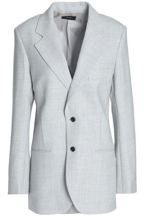 JOSEPH Brushed-twill blazer