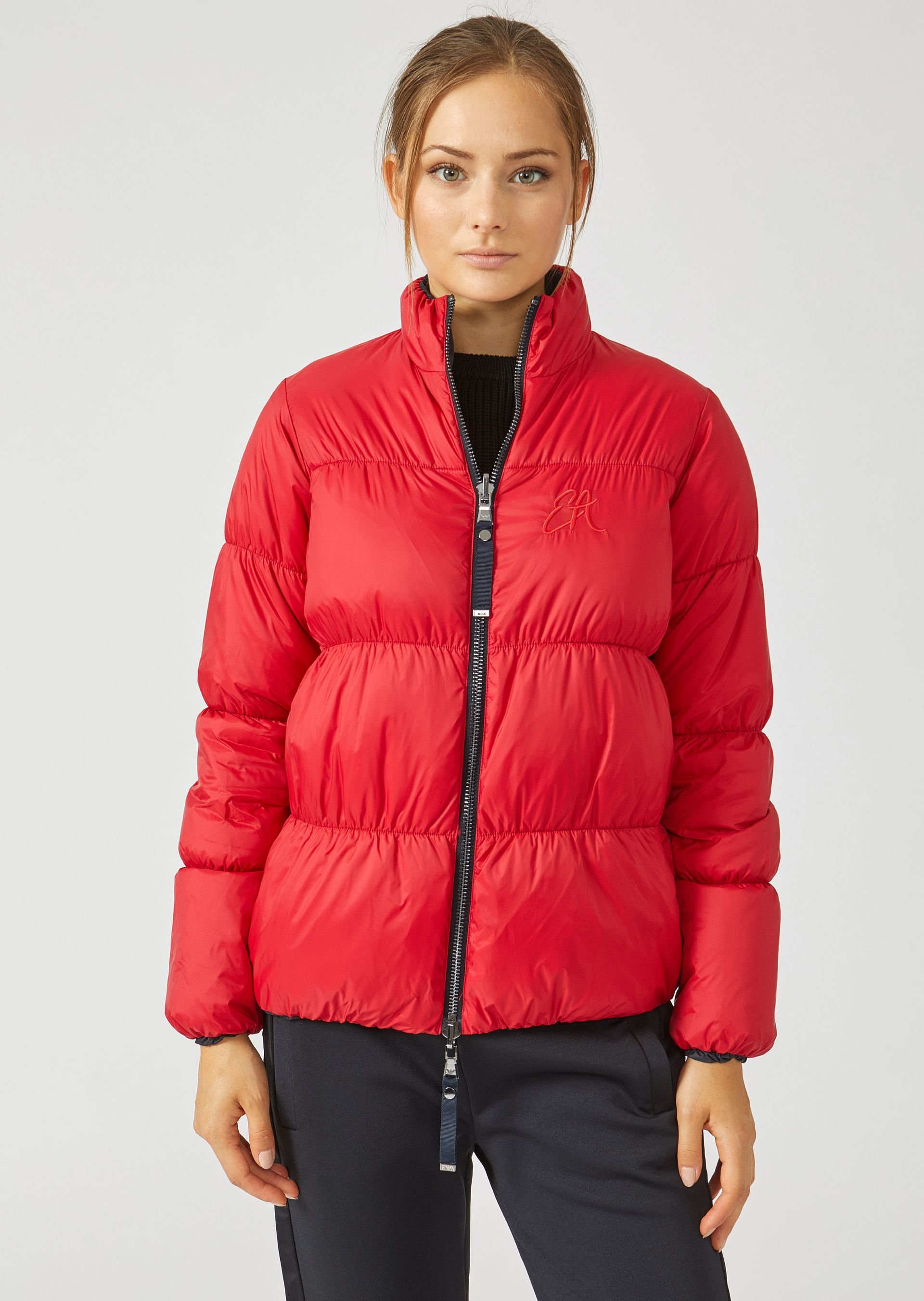 Down Jackets - Item 41843982, Red from ARMANI.COM