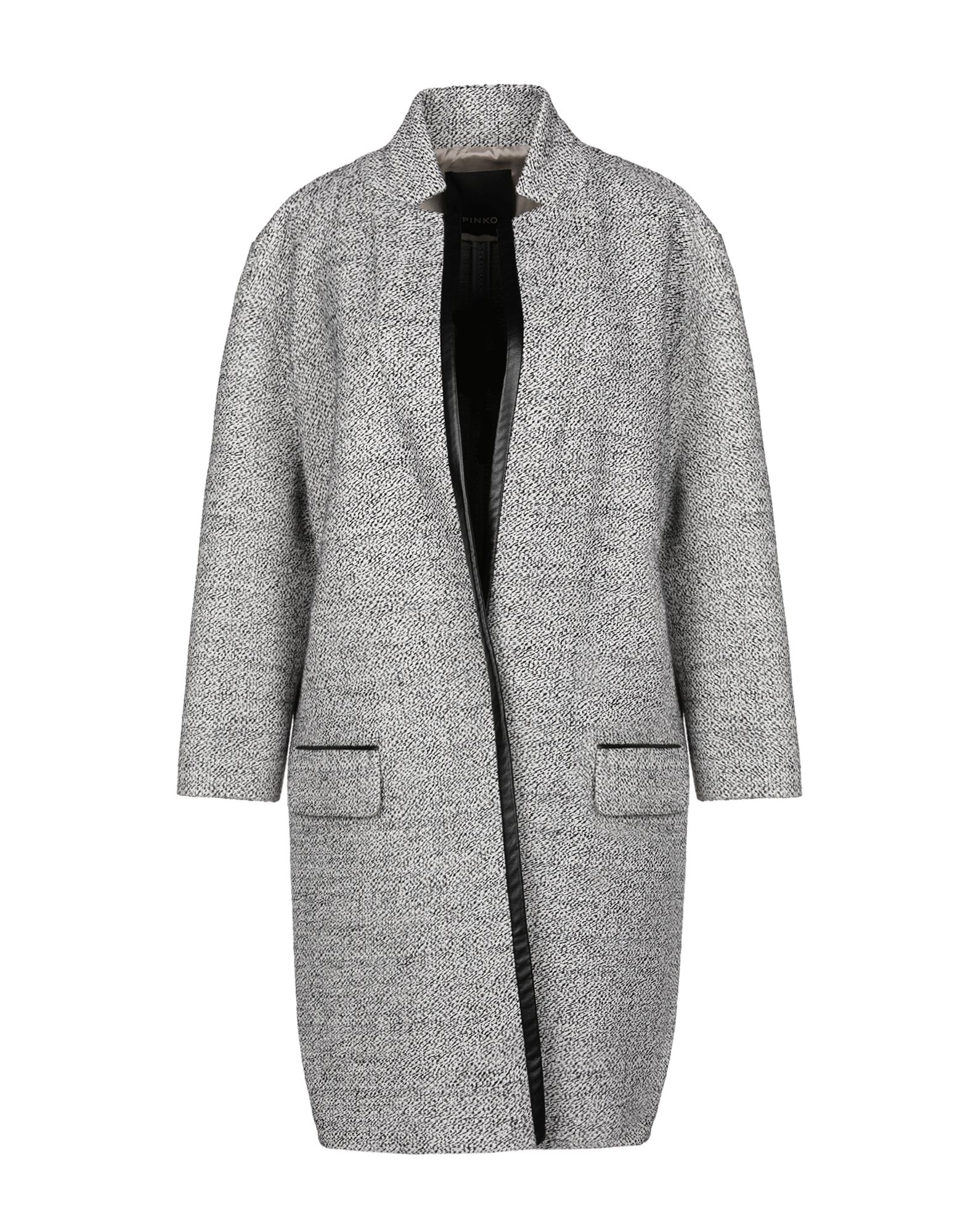 PINKO Пальто pinko black пальто