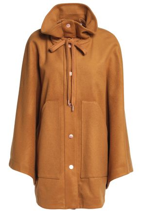 SEE BY CHLOÉ Wool-blend felt cape