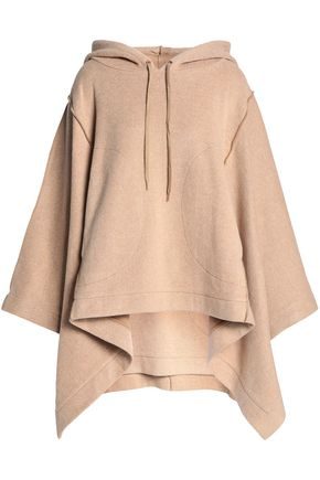 SEE BY CHLOÉ Cotton-blend hooded poncho