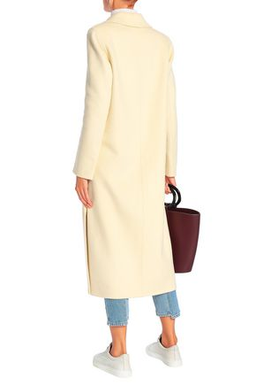 JOSEPH Marvil wool and silk-blend felt coat