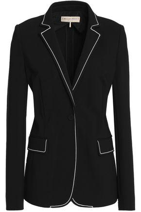 EMILIO PUCCI Silk-blend blazer