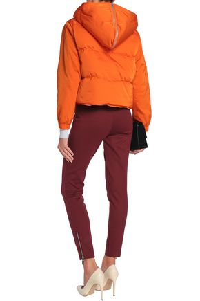 EMILIO PUCCI Quilted shell hooded down jacket