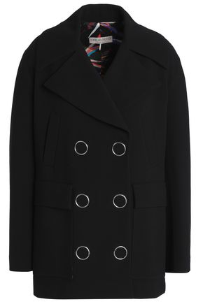 EMILIO PUCCI Double-breasted wool-blend coat