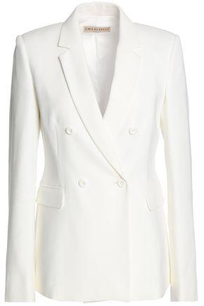 EMILIO PUCCI Double-breasted woven blazer