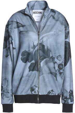 MOSCHINO Printed jersey jacket