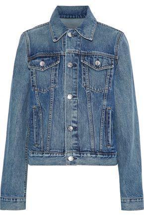 HELMUT LANG Faded denim jacket