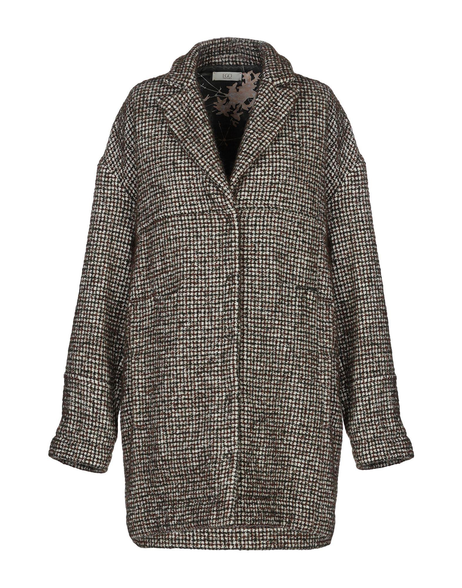 E_GO' SONIA DE NISCO Пальто sonia de nisco пальто