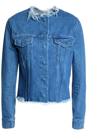 MARQUES' ALMEIDA Frayed denim jacket