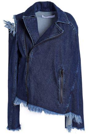 MARQUES' ALMEIDA Frayed distressed denim jacket