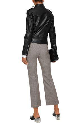 W118 by WALTER BAKER Leather biker jacket