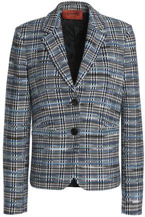 MISSONI Checked jacquard-knit wool-blend blazer