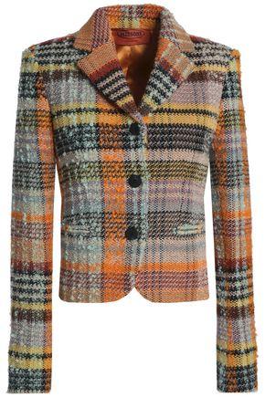 MISSONI Checked jacquard-knit wool-blend bouclé jacket
