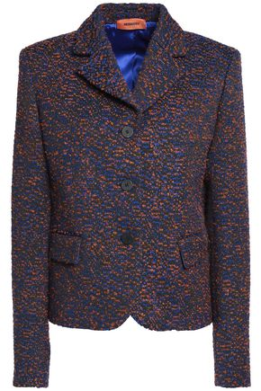 MISSONI Marled bouclé-tweed blazer