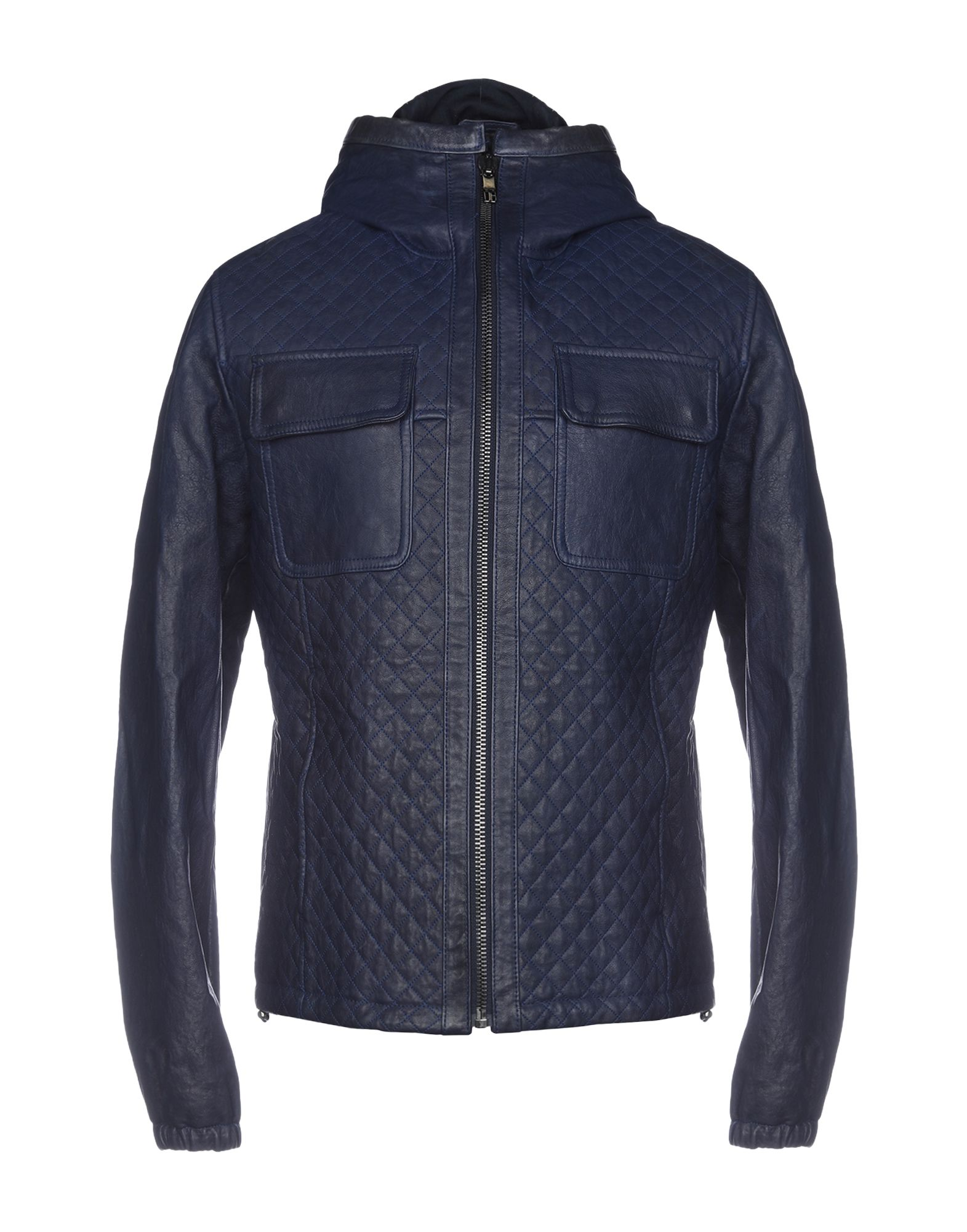 BIKKEMBERGS Jackets in Dark Blue
