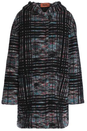 MISSONI Wool-blend bouclé hooded coat