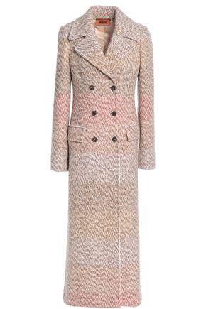 MISSONI Double-breasted wool-blend bouclé coat