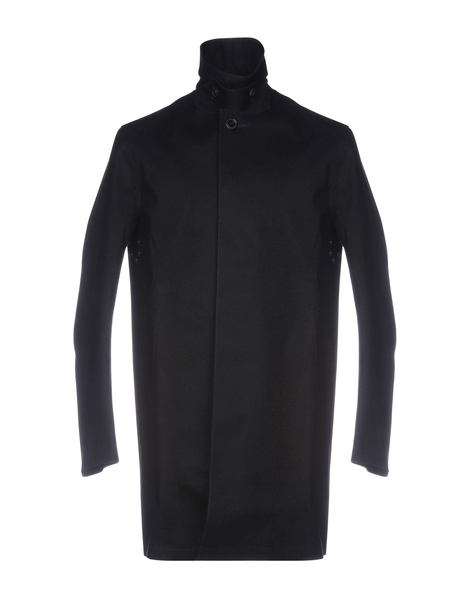 《送料無料》MACKINTOSH メンズ コート ブラック 40 ウール 100% / コットン