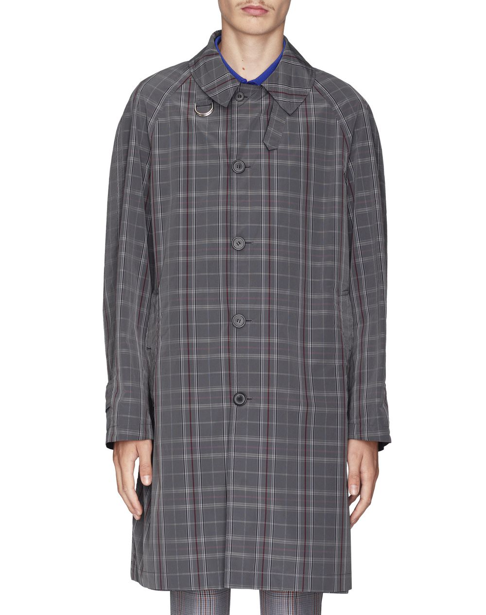 REVERSIBLE CHECKERED COAT - Lanvin