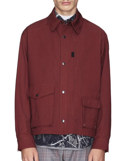BROWN TWILL JACKET  - Lanvin