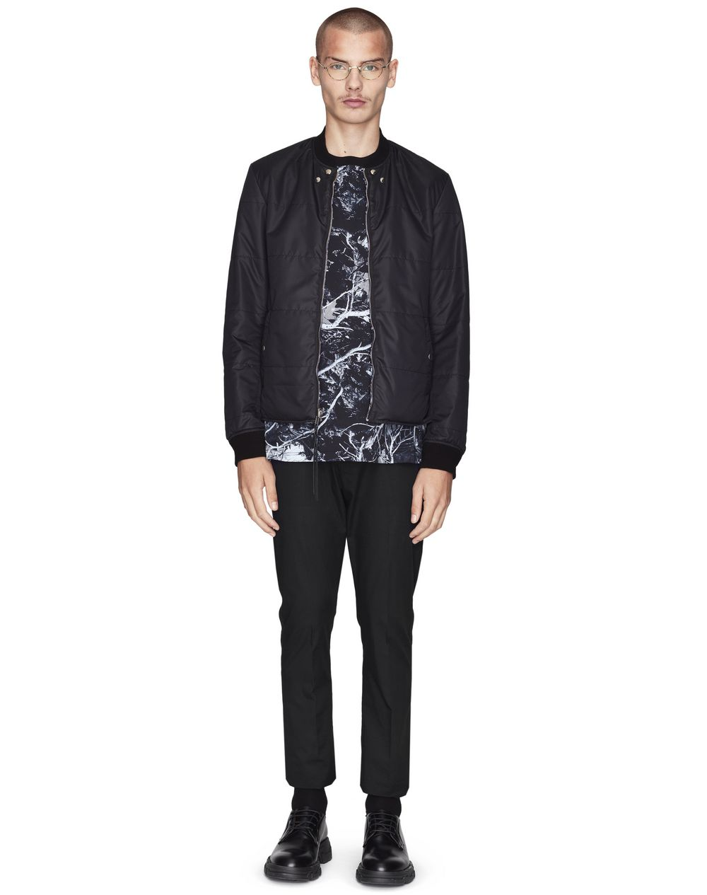 "REVERSIBLE ""FOREST CAMOUFLAGE"" TEDDY JACKET - Lanvin"