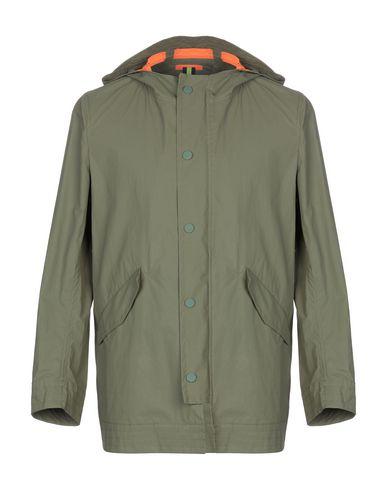 Купить Легкое пальто от BICOLORE® цвет зеленый-милитари