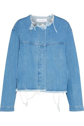MARQUES' ALMEIDA Distressed denim jacket