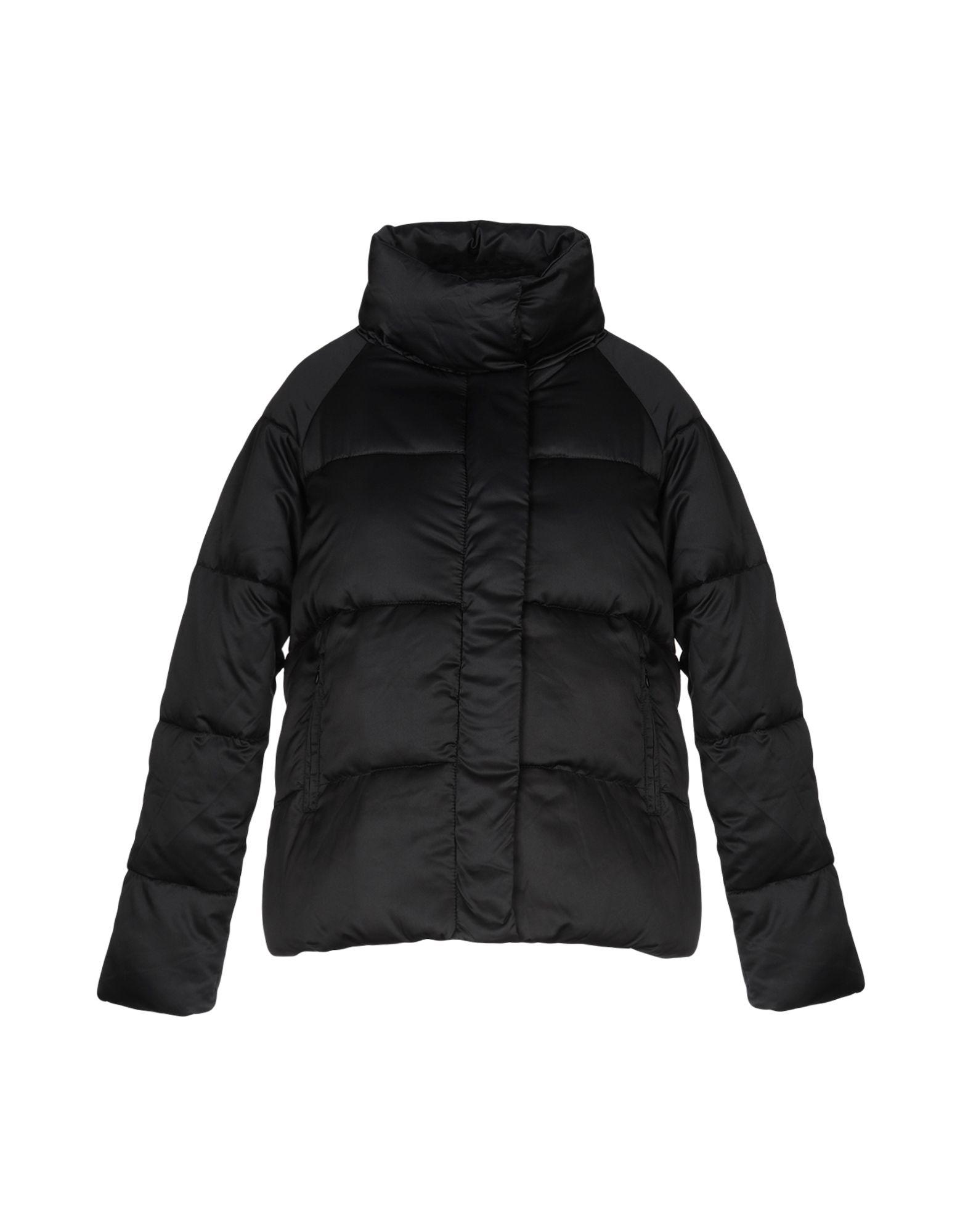 《送料無料》KAOS JEANS レディース 合成繊維中綿アウター ブラック 40 ポリエステル 100%