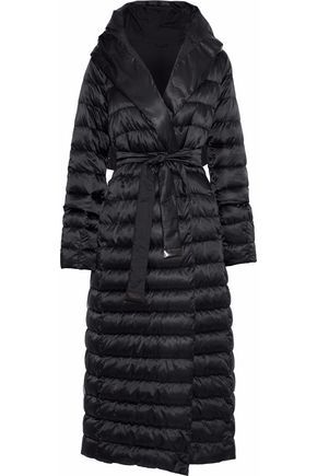 MAX MARA Novet reversible quilted shell down hooded coat