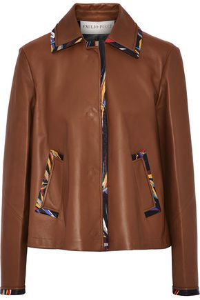 EMILIO PUCCI Leather jacket