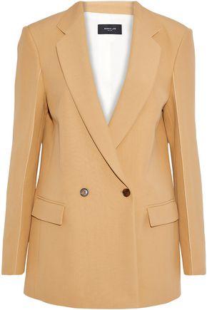 DEREK LAM Double-breasted cotton-twill blazer