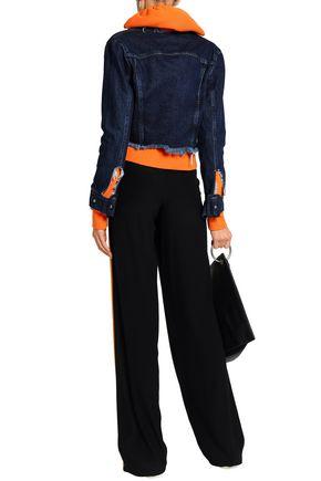 MARQUES' ALMEIDA Frayed denim jacket